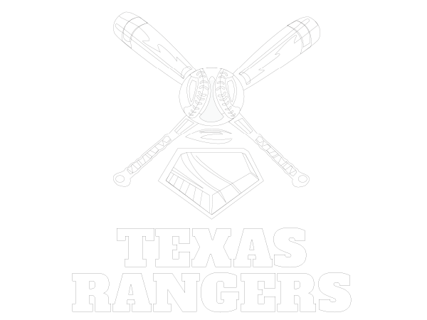 Printable Texas Rangers Coloring Sheet Mlb Coloring Sheets