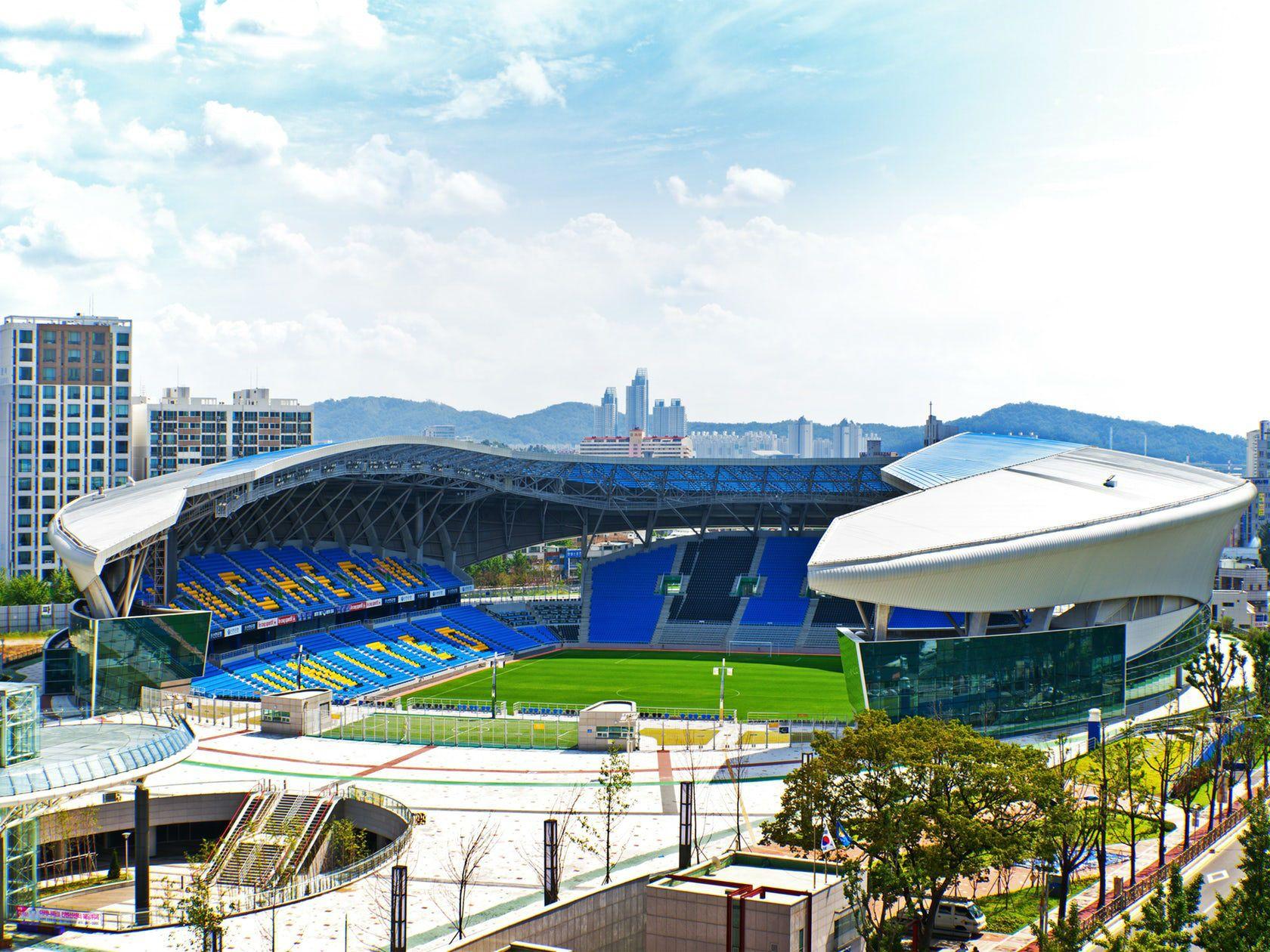 Rossetto Sedie ~ Arch2o incheon football stadium sungui arena park rossetti 03