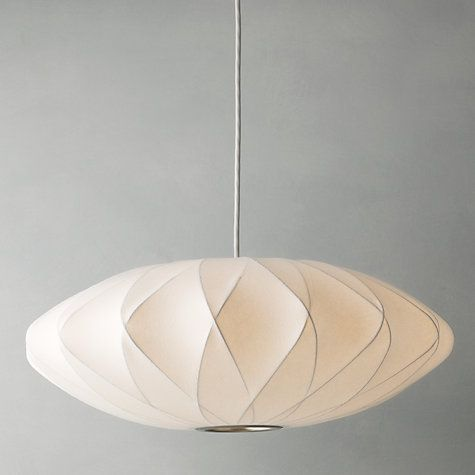 George Nelson Bubble Crisscross Saucer Ceiling Light, Medium At John Lewis