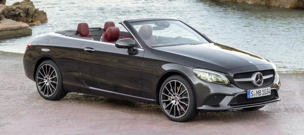 The 2019 Mercedes Benz C Class Coupe And Cabriolet Suv Is In Its
