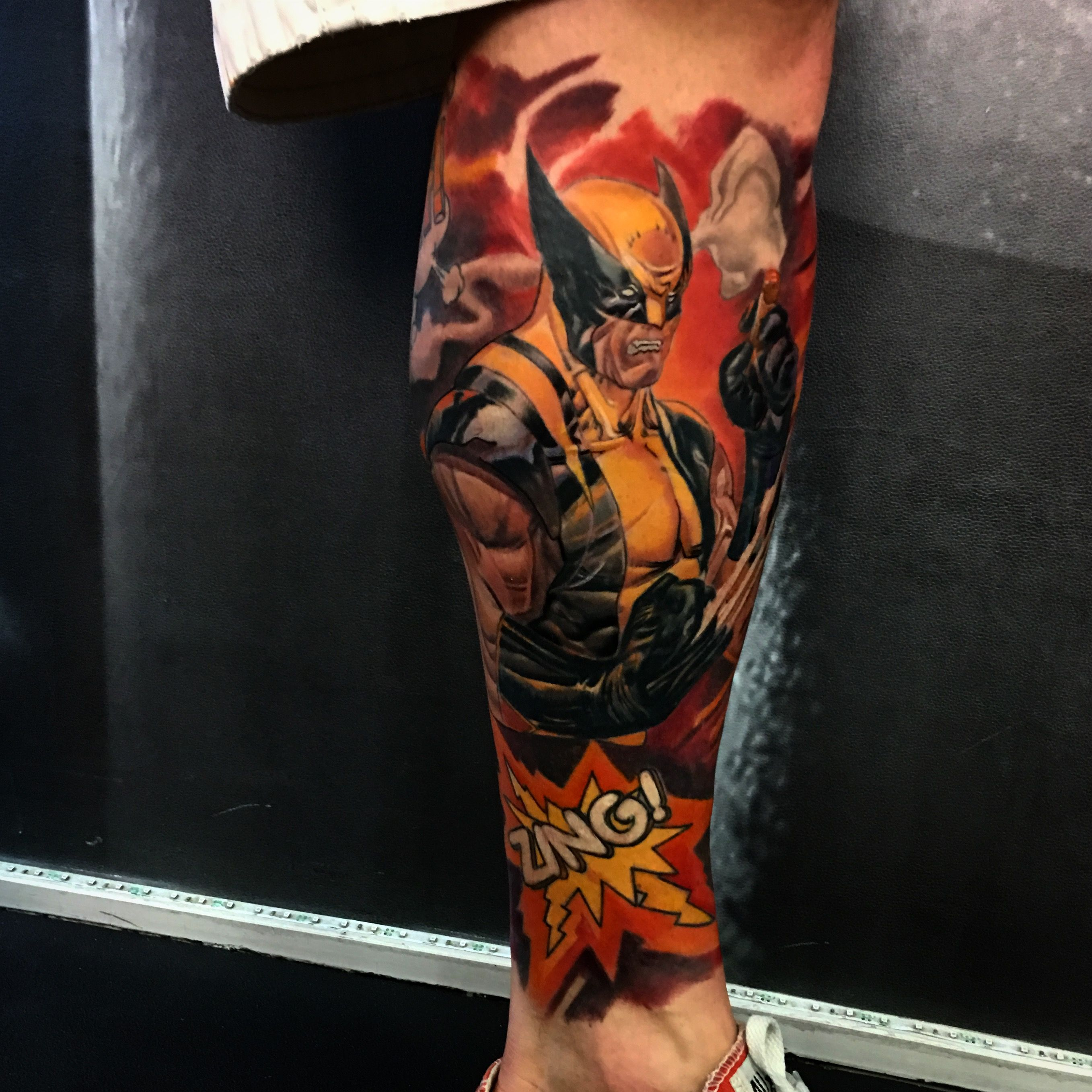 Wolverine wolverine #tattoo #cartoontattoo