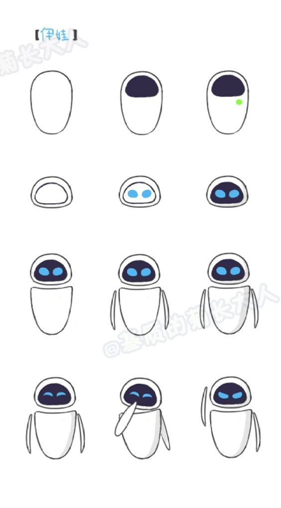 580 desenhos para desenhar fáceis e simples para você