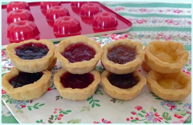 Mini Jammy Bundt Tarts
