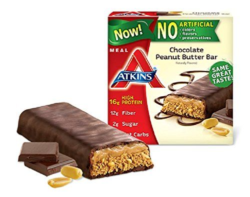 Atkins Protein-Rich Meal Bar, Chocolate Peanut Butter #atkinsmeals