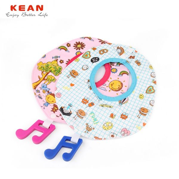 funny cute baby bibs can attach teethers