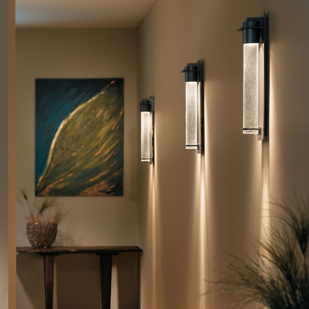 Airis Coastal Outdoor Wall Sconce Heavily Forged Plate Coastal Burnished Steel Small In 2021 Wall Sconce Hallway Modern Wall Sconces Wall Sconces Living Room