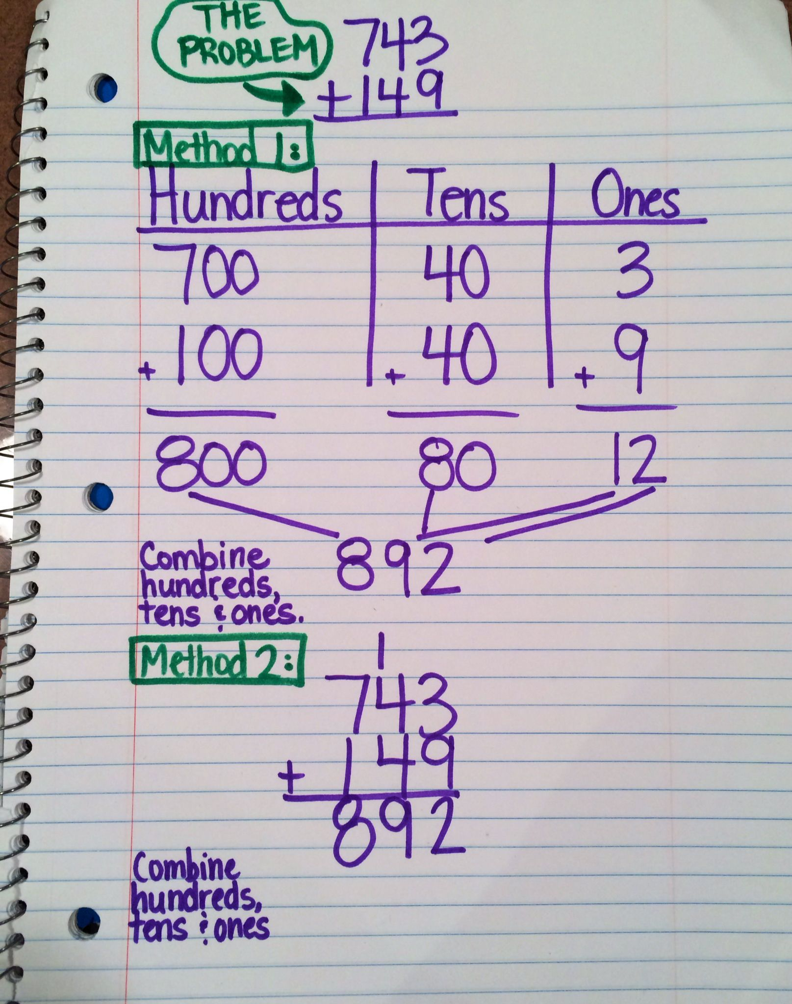 Pin On Place Value Adding Multi Digit Adding multi digit numbers with