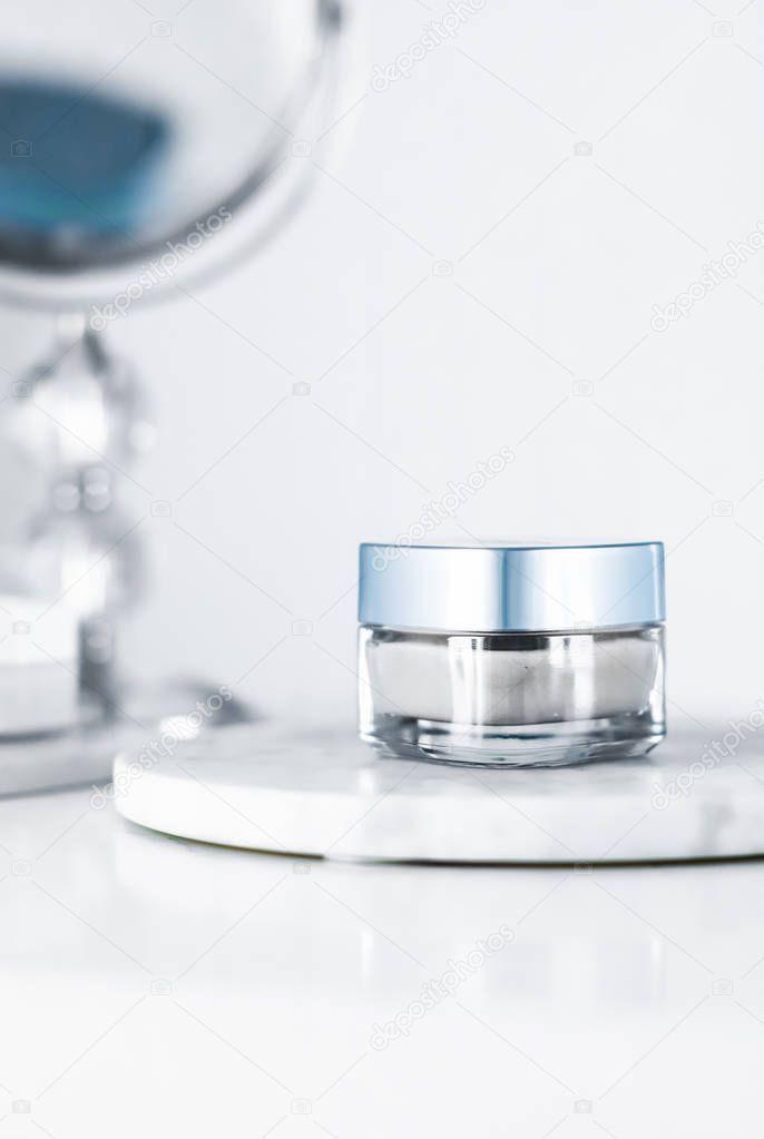 Beauty face cream mask luxury moisturizing cosmetic product  Stock Phot