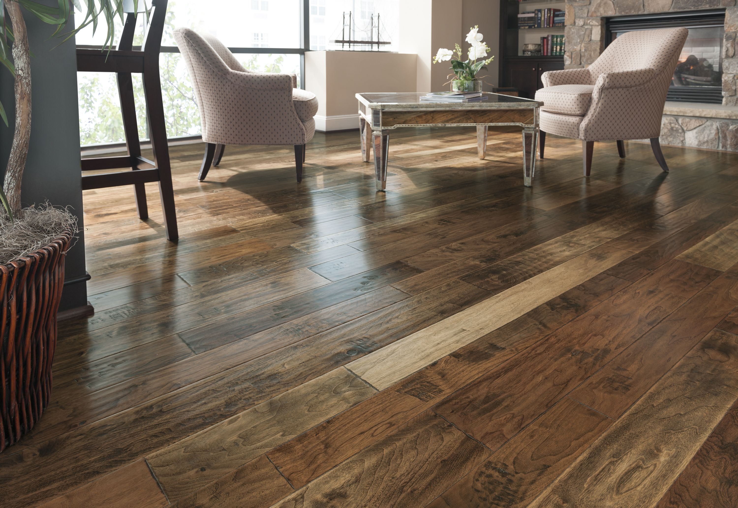 wood hickory house flooring armstrong forge iron floors branding hardwood