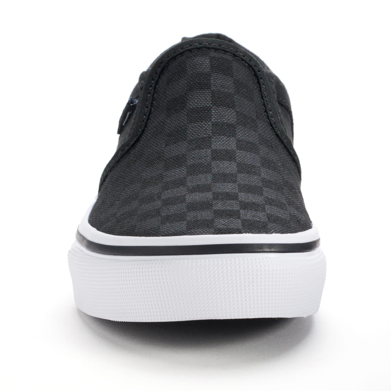 0a5fa08e40 Vans Asher Boys  Checkered Skate Shoes  Boys