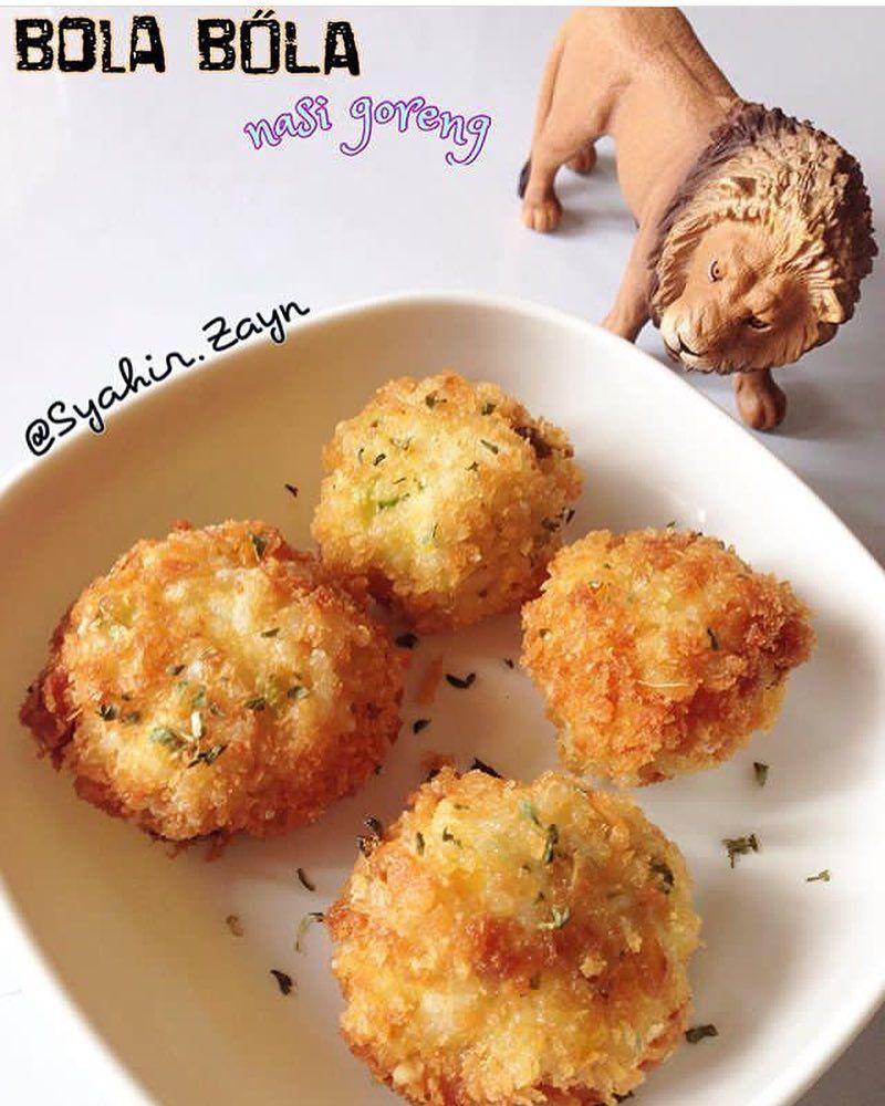 Bola Nasi Goreng By Mom Syahir Zayn Bahan Resep Makanan Bayi Makanan Balita Resep Makanan