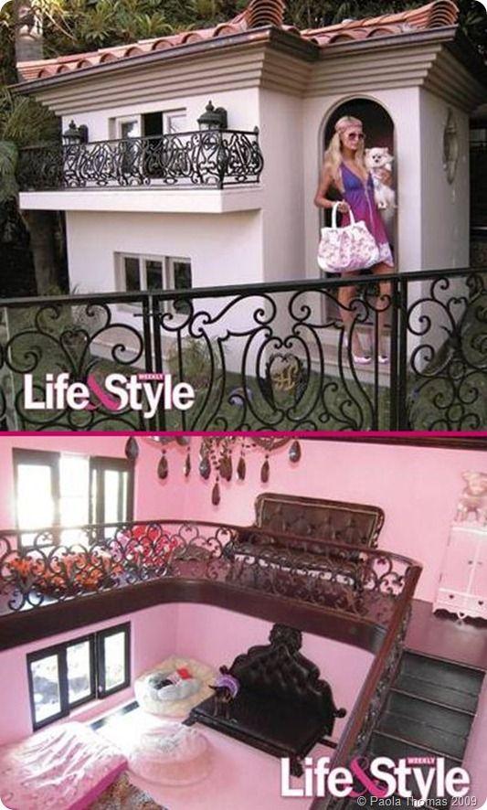 Paris Hilton S Doghouse Mirror Mirror Paris Hilton Dog Cool Dog Houses Dog Houses