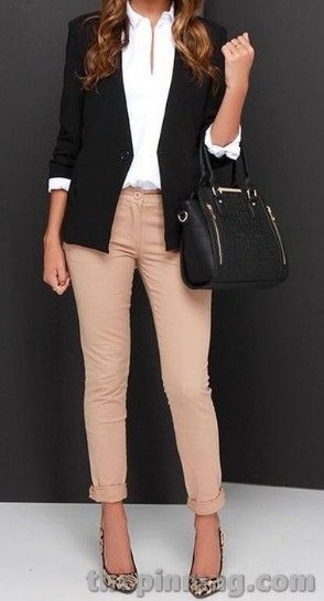 20 Chic Work Outfits Ideas For Women