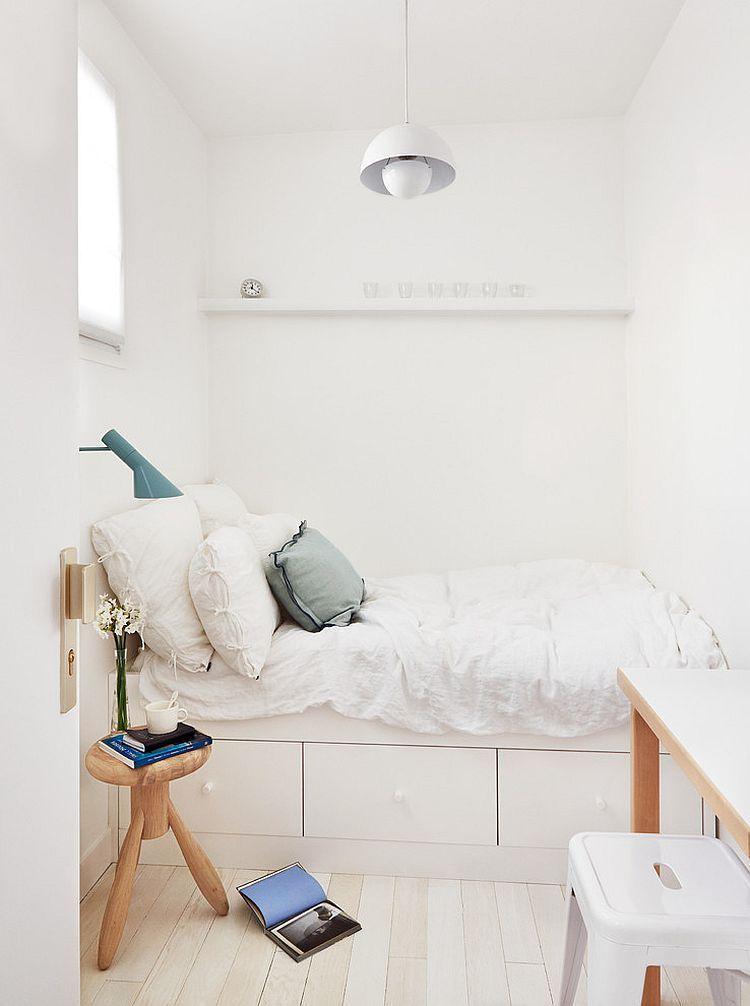 36 Relaxing And Chic Scandinavian Bedroom Designs Tiny Bedroom Small Bedroom Bedroom Layouts