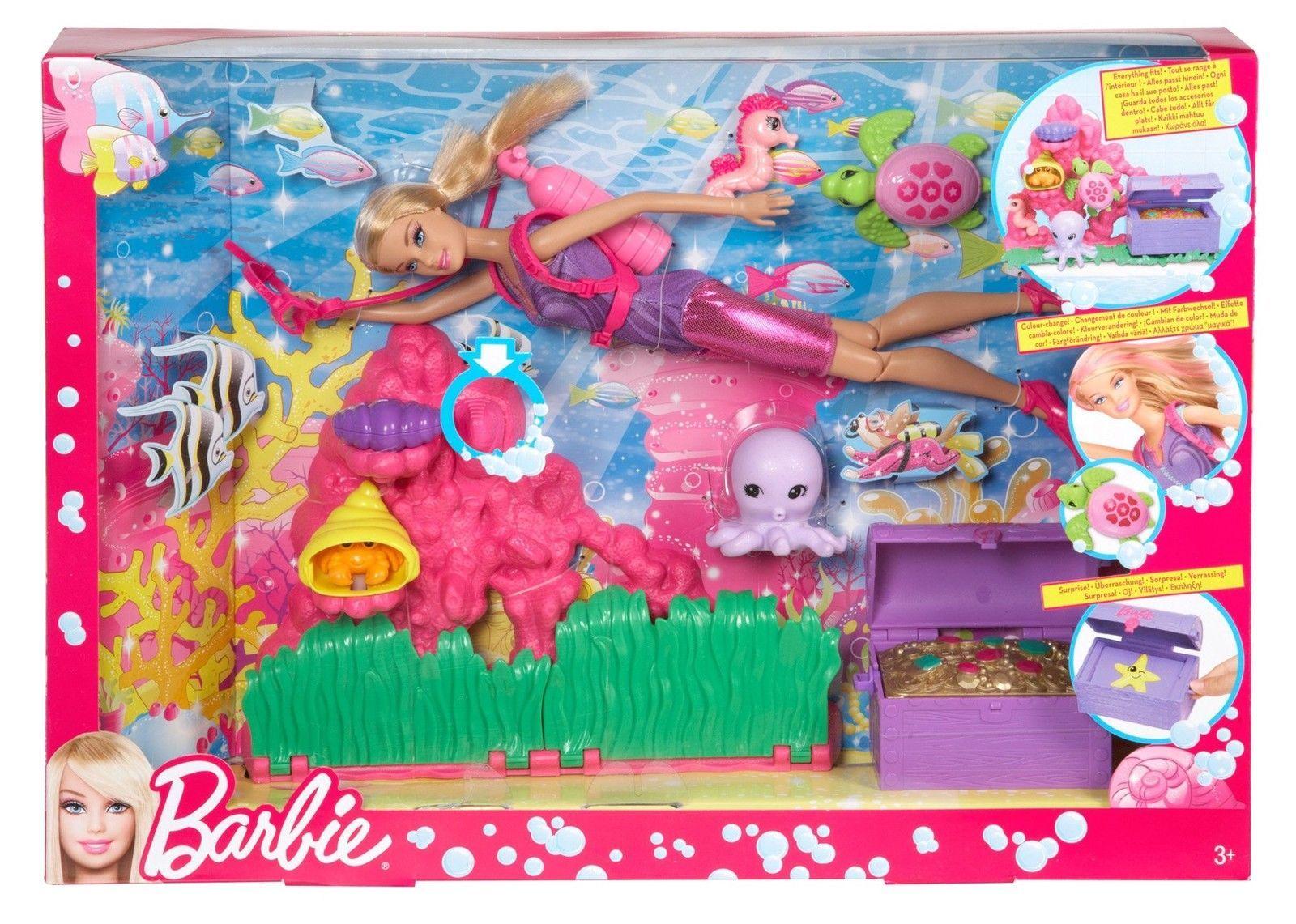 NIB Barbie I Can Be Ocean Treasure Explorer Playset