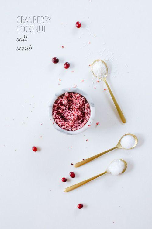 cranberry homemade facial