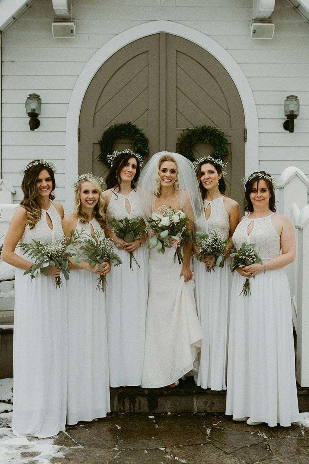 ffa0e4389a6 Awesome 48 Stunning Wedding Dresses Styles Ideas For Winter Wonderland  Weddings