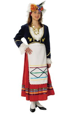 Corfu Female Traditional Dance Costume - www.nioras.com ...