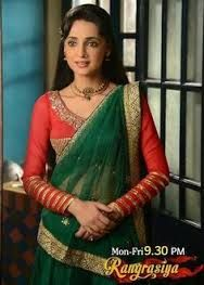 Image result for rangrasiya serial sanaya costume