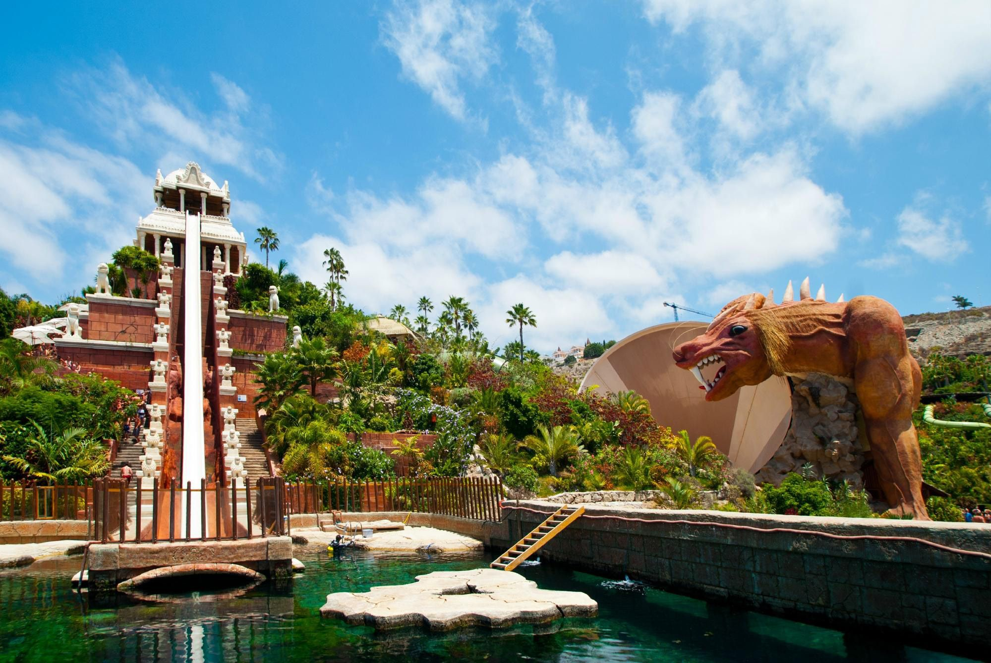 Siam Park In Adeje Spain Is The Top Water Park In The World According To The Tripadvisor Travelers Choice Amu Water Park Rides Water Park Siam Park Tenerife