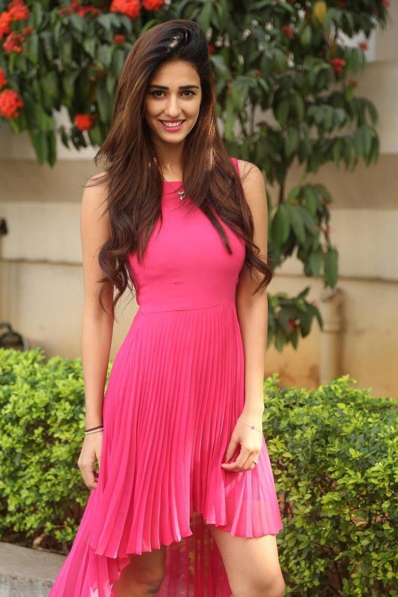 Disha Patani New Sexy Stills At Loafer Movie Success Meet Photos