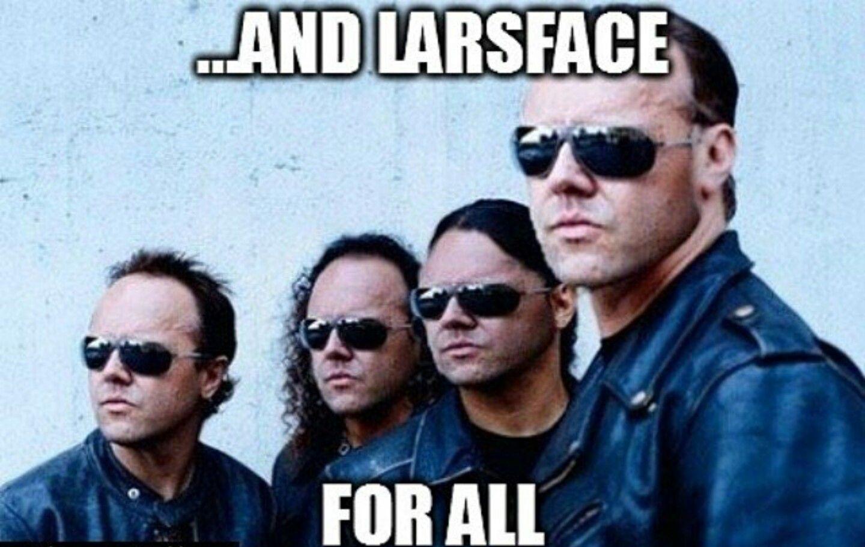 Funny Rock Music Meme : This is so funny lars fourplicated metallica