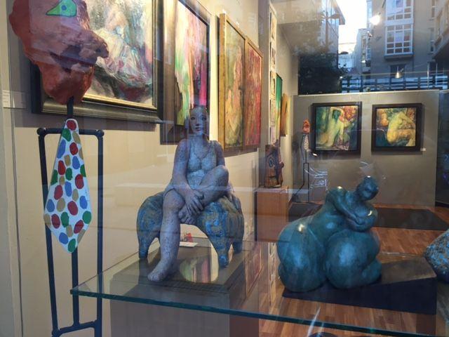Exposición colectiva de pintura,escultura y ceramíca