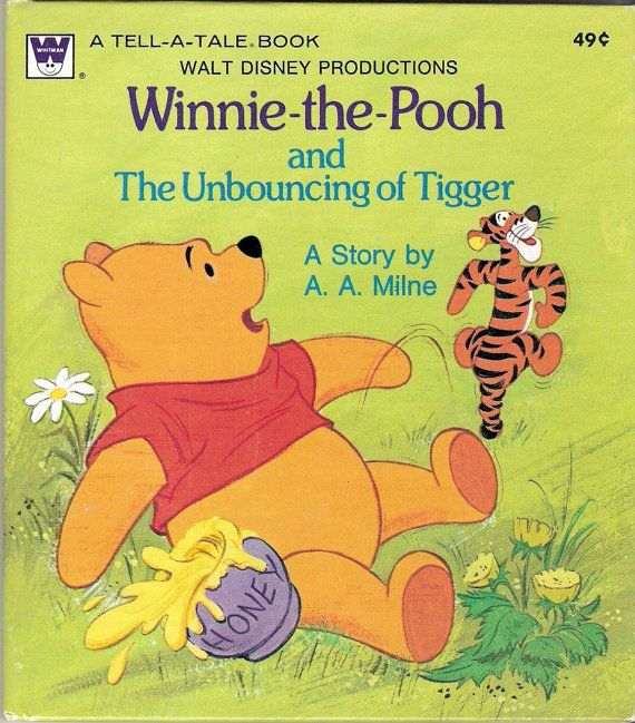 Winnie the Pooh and The Unbouncing of Tigger by MyLittleBookGarden