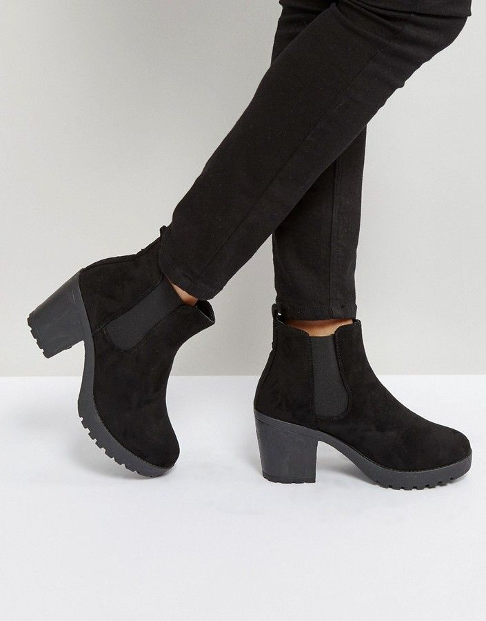 027d3a06c05 Truffle Collection Heeled Chelsea Boots | ня in 2019