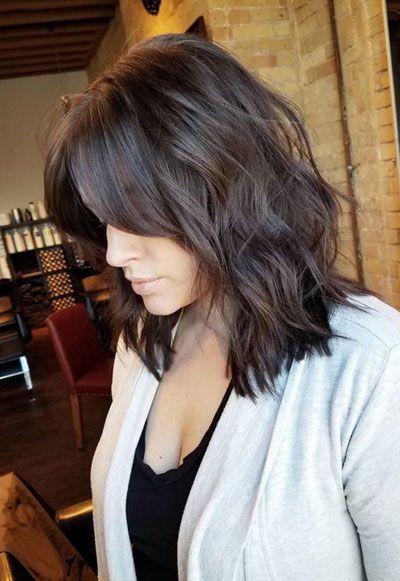 50 meilleures coiffures de longueur moyenne pour cheveux fins (et extrêmement fins) - Coiffures