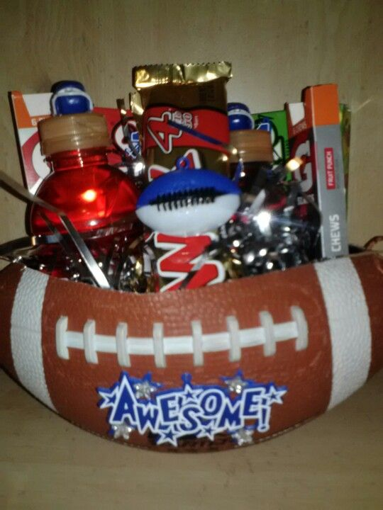If U Need Any Ideas For A Football Buddy Here U Go
