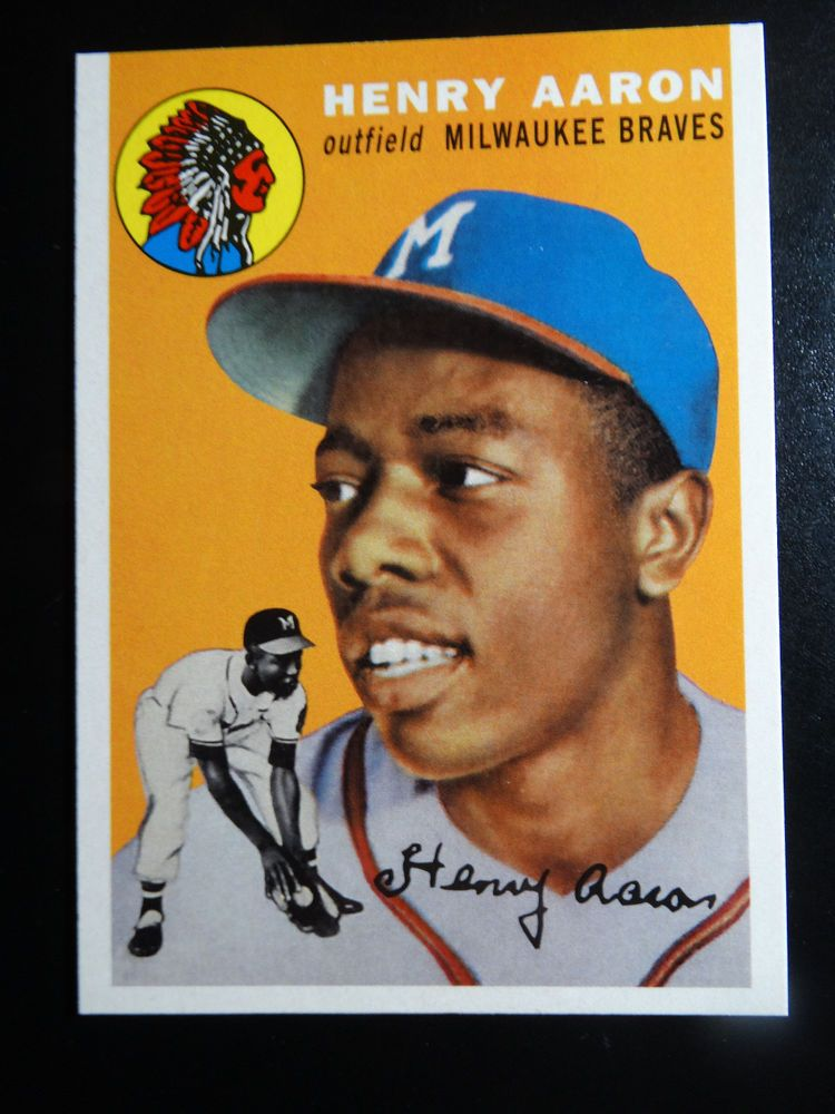 2017 Topps Series 1 Hank Aaron Greatest Memories Then Moments Now