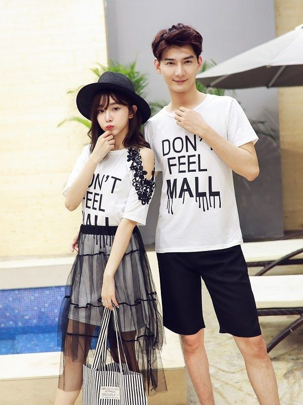 7514d616e Letter Printed Korean Couple Shirts  Couples shirts WHOLESALE  CLOTHING Wholesale clothing