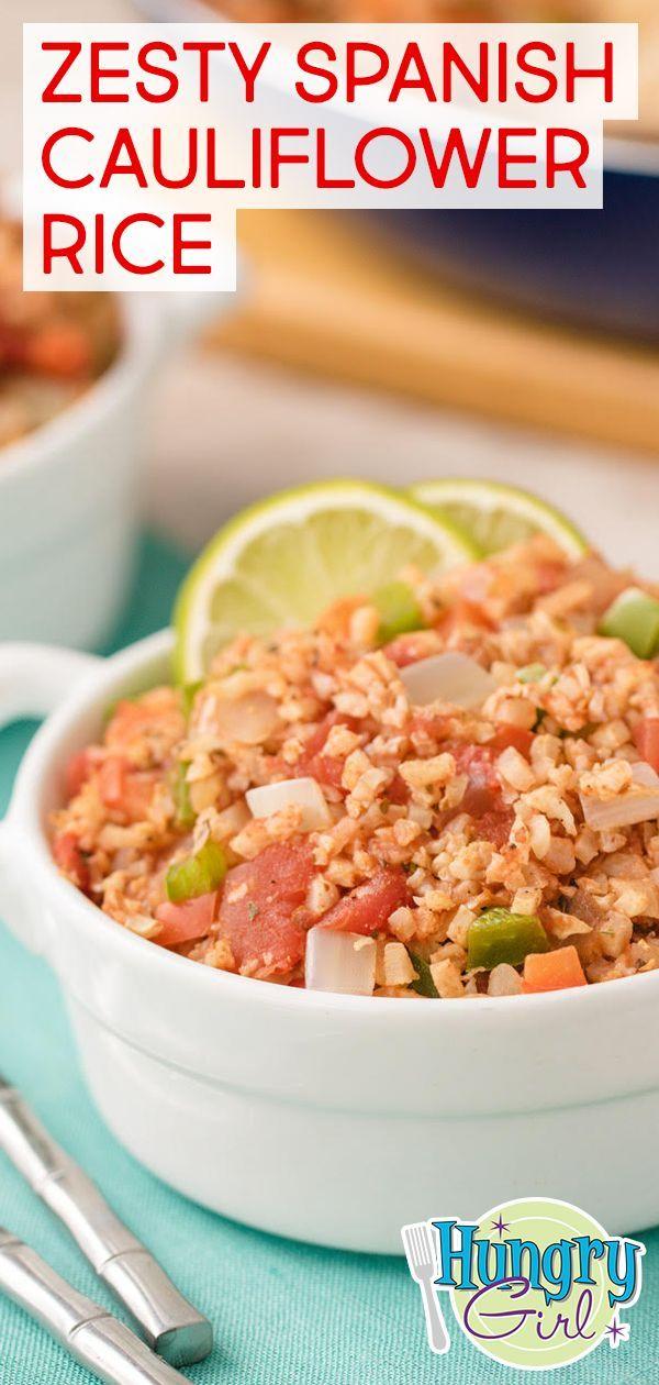 Zesty Spanish Cauliflower Rice Spanish Cauliflower+#Cauliflower