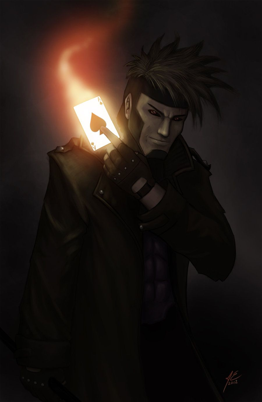 Gambit by ~fri94 on deviantART
