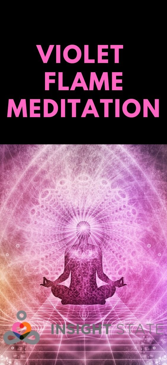 Saint Germain - Violet Flame Meditation for Healing and ...