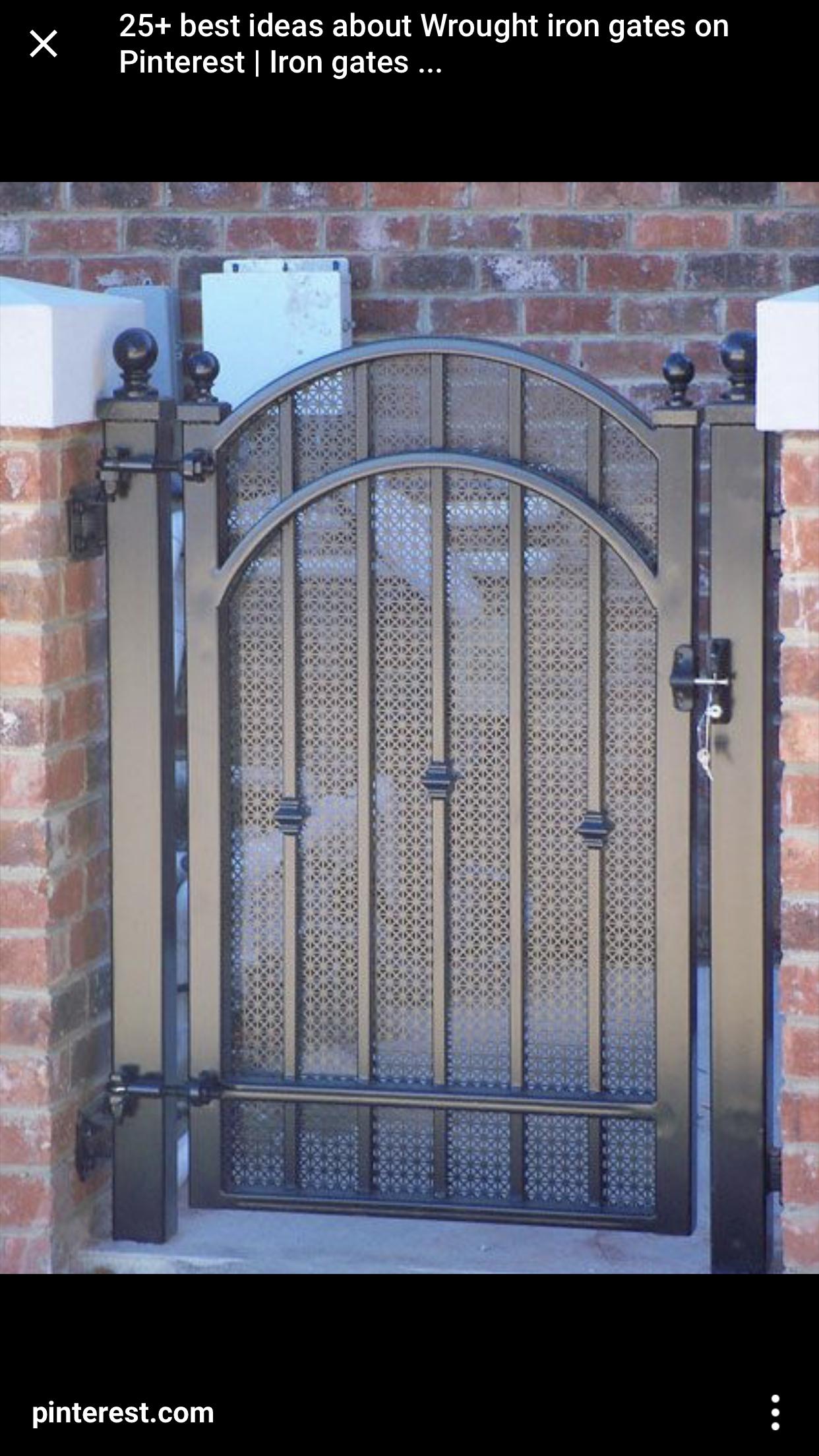 Pin By Lili Gutierrez On Front Yard Landscape Iron Gate Design