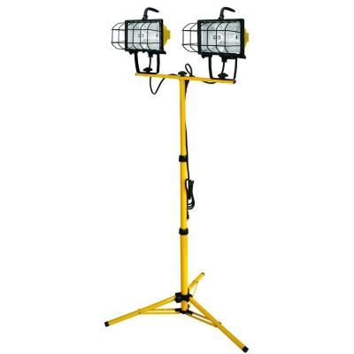 Voltec 1000 Watt Halogen Tripod Work Light 08 00211 The Home Depot Work Lights Tripod Lighting Halogen Light Bulbs