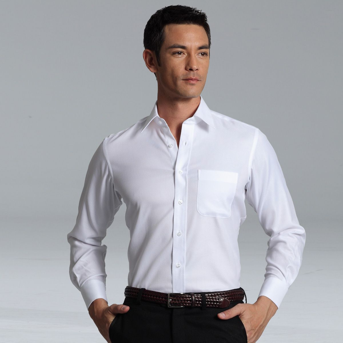 Images of White Long Sleeve Shirt For Men - Fashion Trends and Models