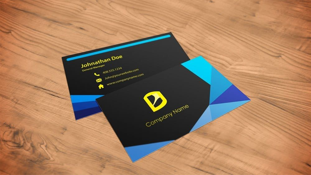 50+ Best Free Business Card Mockup PSD 2019 Business