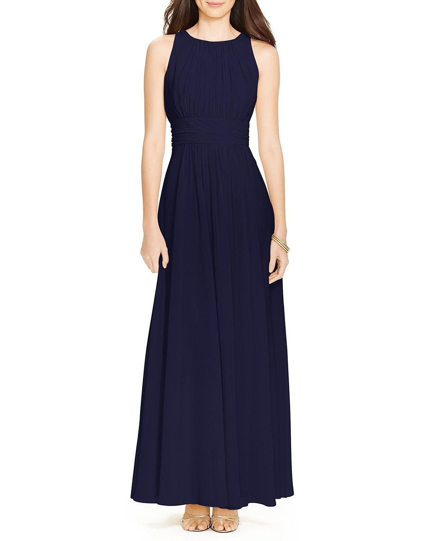 Lauren Ralph Lauren Gown - Sleeveless Georgette  Konfirmation