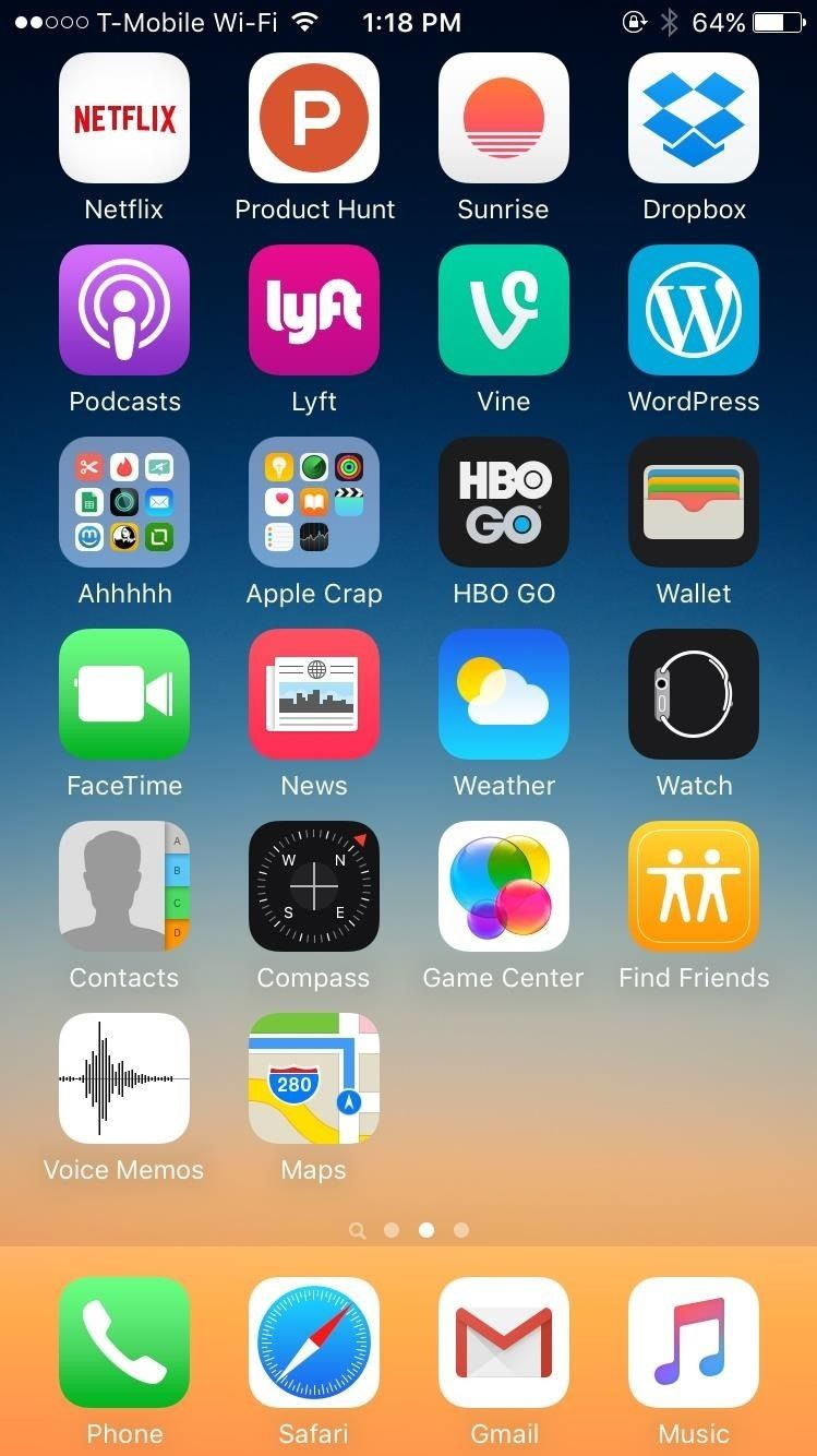 the 25 best iphone home screen layout ideas on pinterest. Black Bedroom Furniture Sets. Home Design Ideas