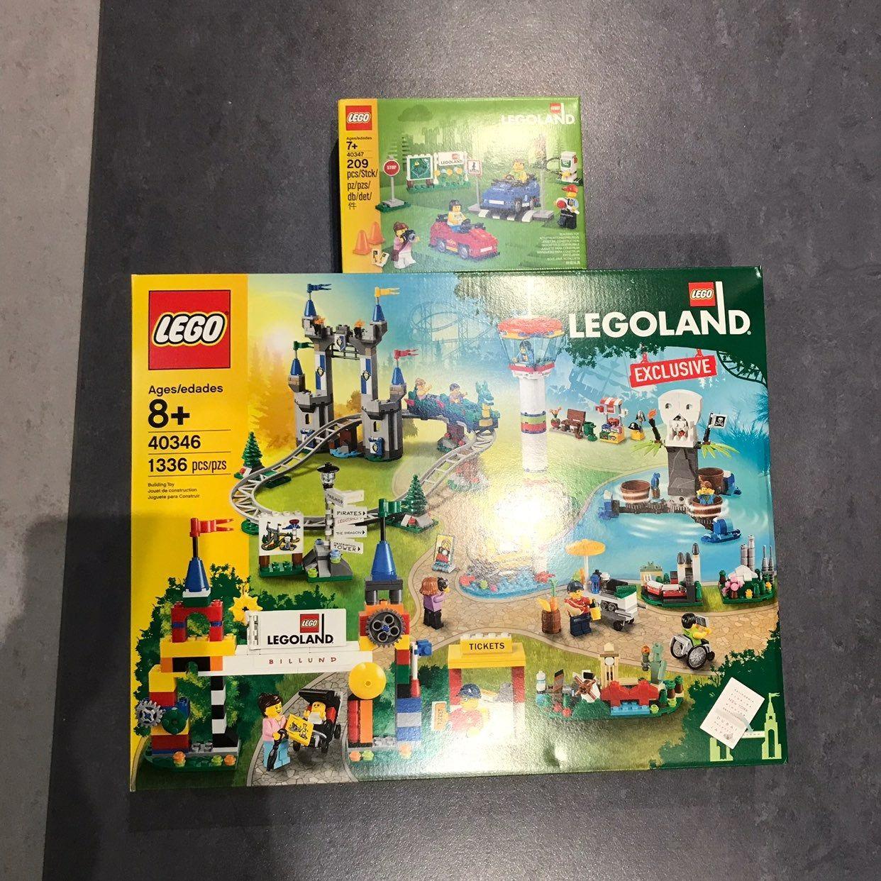 Lego 40346 40347 LEGOLAND 2019 Exclusive Set Both sets are ...