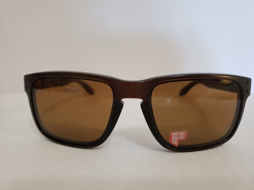 9795fd6fb4 Oakley Holbrook Sunglasses 009102-03 Matte Rootbeer Frame Bronze Polarized  Lens  fashion  clothing