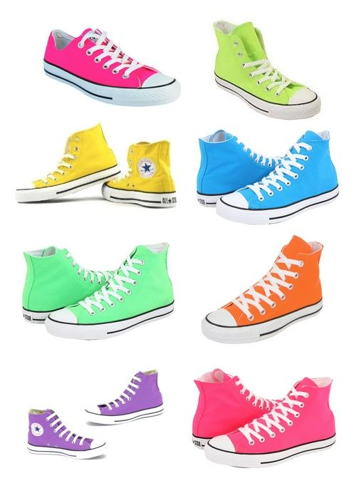 Converse. I prefer the lows, but in
