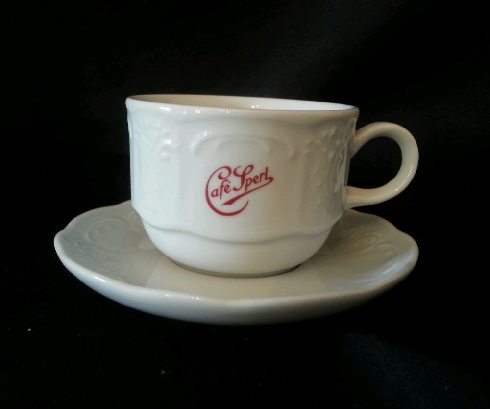 Lilien Cafe' Sperl Tea Cup U3 and Saucer N1 Austria 18 #Lilien