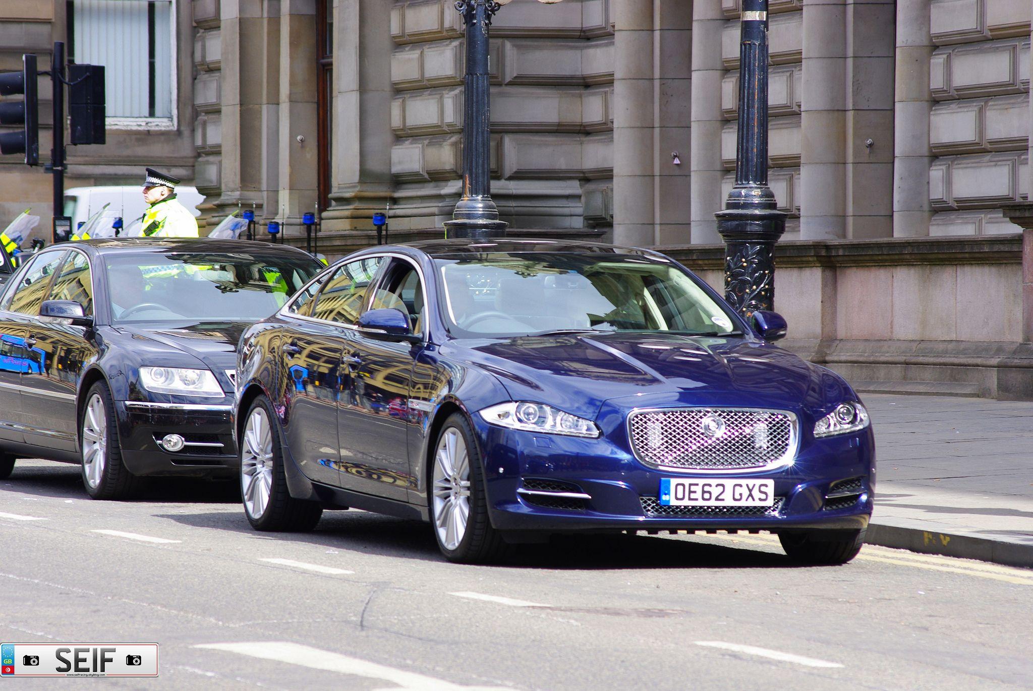 Jaguar Xlj Glasgow2013 Jaguar Armored Vehicles Police Cars