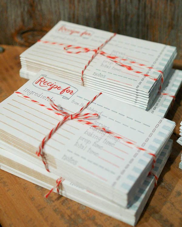 I want to make some custom recipe cards like this do it myself recipe cards tied with butcher twine find this pin and more on do it myself solutioingenieria Images