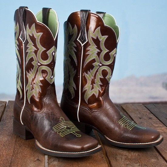 Ariat Brown Tombstone Boots | Brown, Lady and Boots