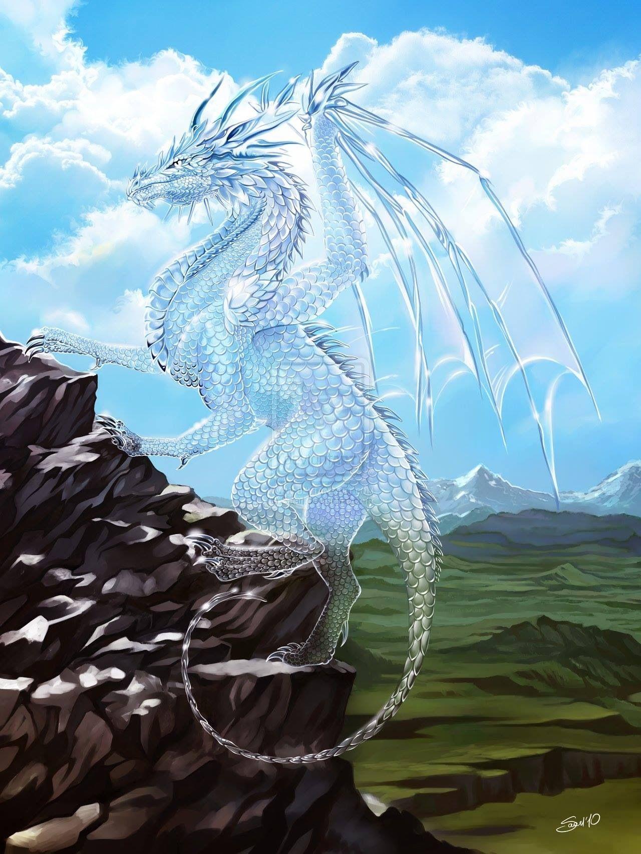 Dragón invisible | Dragones mitologicos, Dragones, Criaturas ...